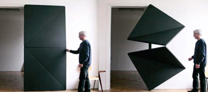 Evolution Door: De futuristische origamideur