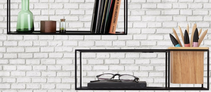Cubist Shelf wandplank - Umbra
