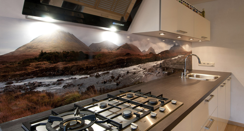 Keukentegels Pimpen : Foto spatwand Een originele achterwand in de keuken
