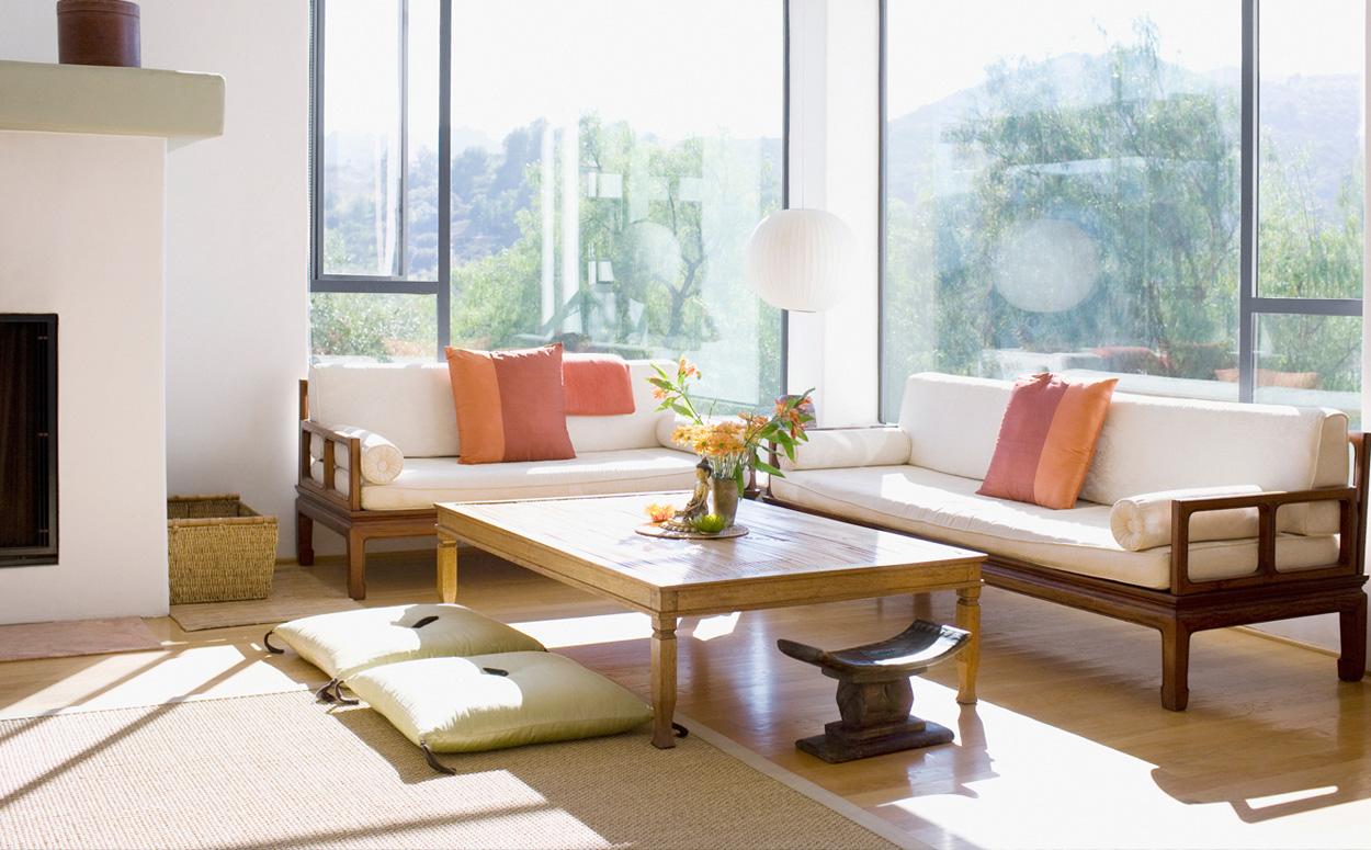 Tips en inspiratie voor een geslaagde feng shui inrichting - Een kleine rechthoekige woonkamer geven ...
