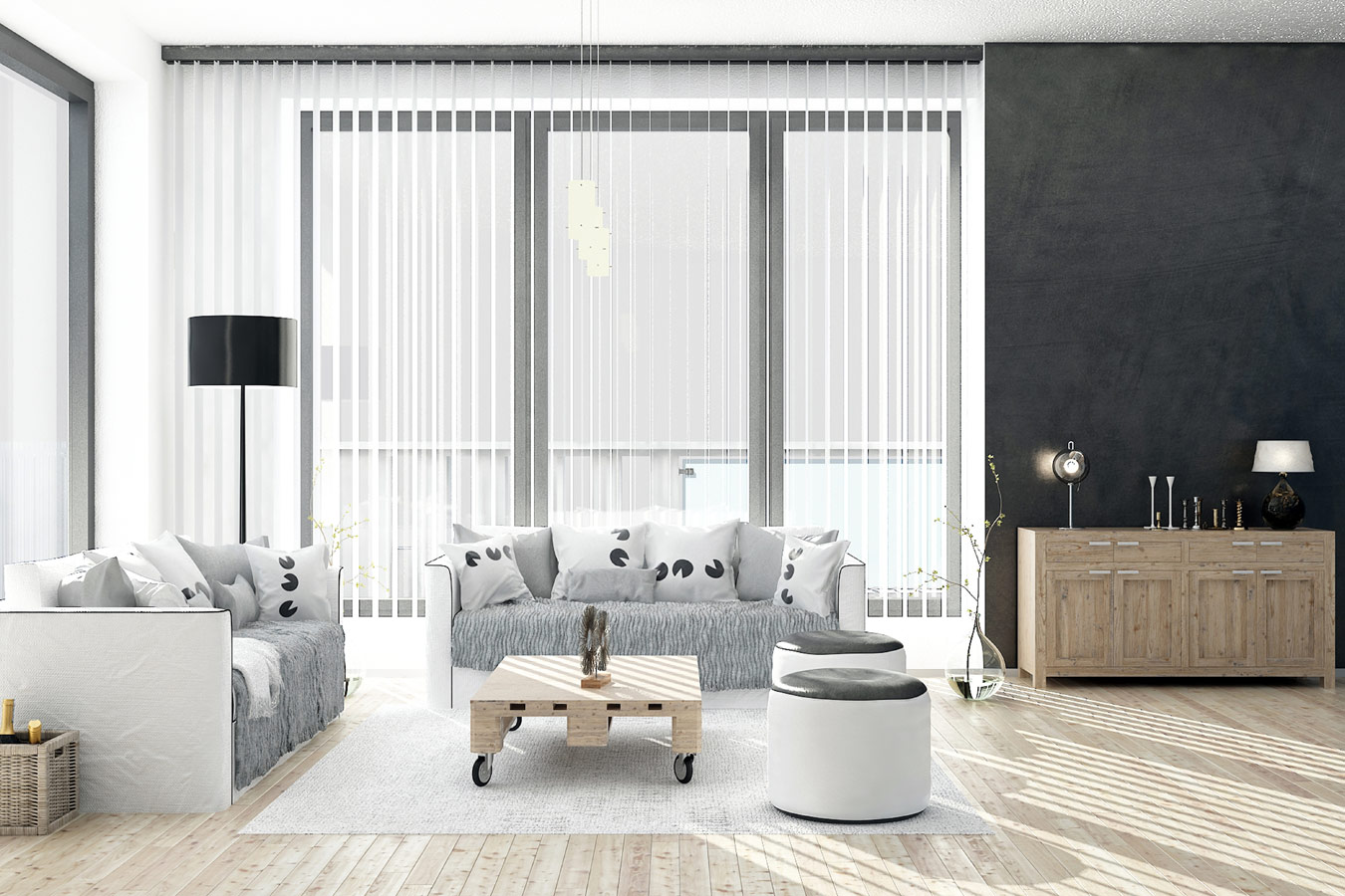 Raamdecoratie mogelijkheden tips inspiratie - Gordijnen voor overdekt terras ...
