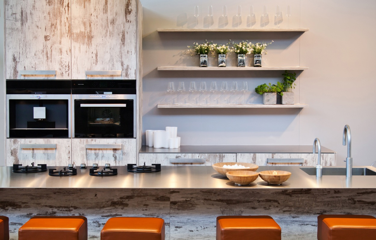 10 tips voor het inrichten van een klein appartement - Keuken open voor woonkamer klein gebied ...