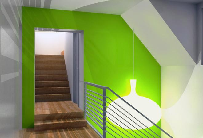 Accentmuur schilderen tips kleuren muren kiezen - Verf voor gang ...