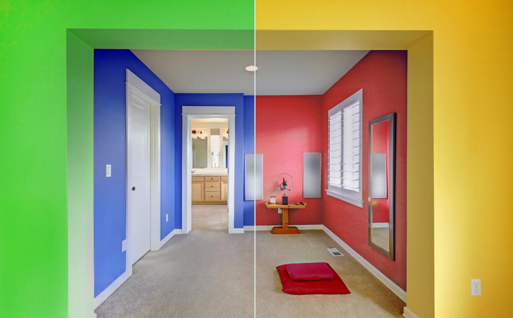 Kleuradvies interieur kleuren en hun ruimtelijk effect - Lounge warme kleur ...