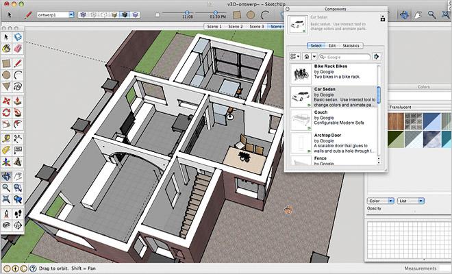 Gratis interieur tekenprogramma 39 s overzicht 3d programma 39 s for Ontwerp eigen huis