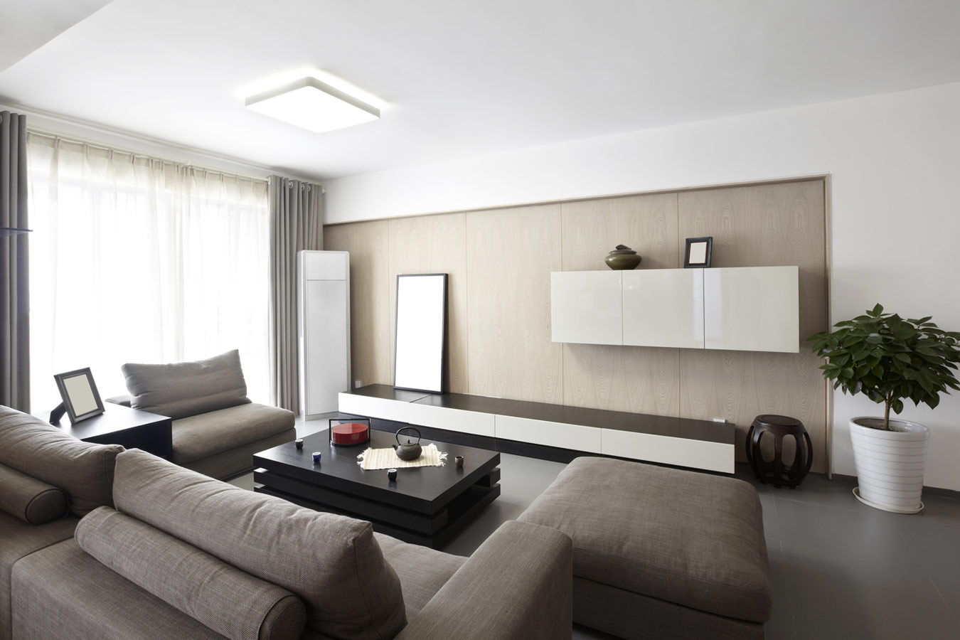 Woonkamer inrichten tips idee n inspiratie - Interieur decoratie modern hout ...