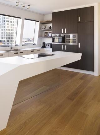 Design penthouse inrichting in antwerpen elft interieur - Van plan corian ...