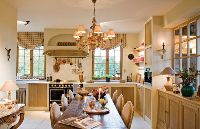 Landhuis in engelse stijl inrichting door lef vre interiors - Oude stijl keuken wastafel ...
