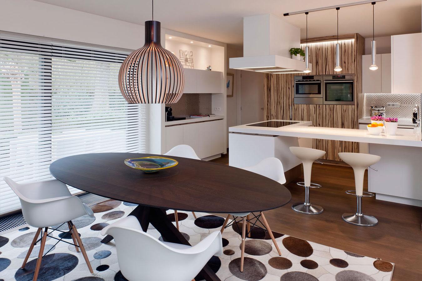 Beautiful Retro Eetkamer Contemporary - House Design Ideas 2018 ...