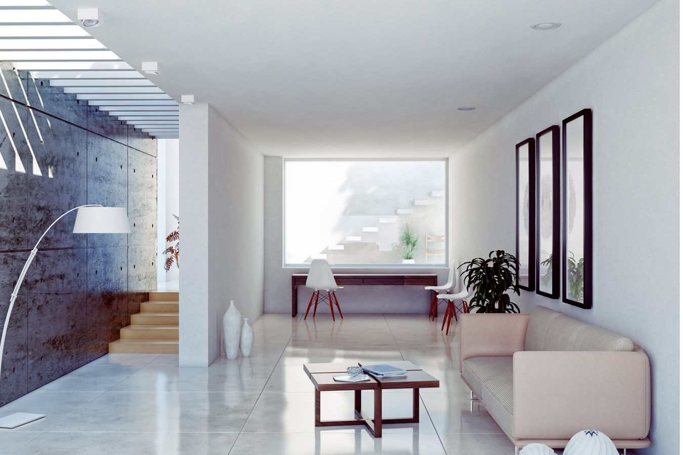 Idee n voor een moderne woonkamer inspiratie - Moderne eetkamer en woonkamer ...