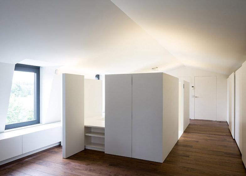 Kosten Badkamer Casco ~ Moderne zolderrenovatie met open badkamer  Binennkijken