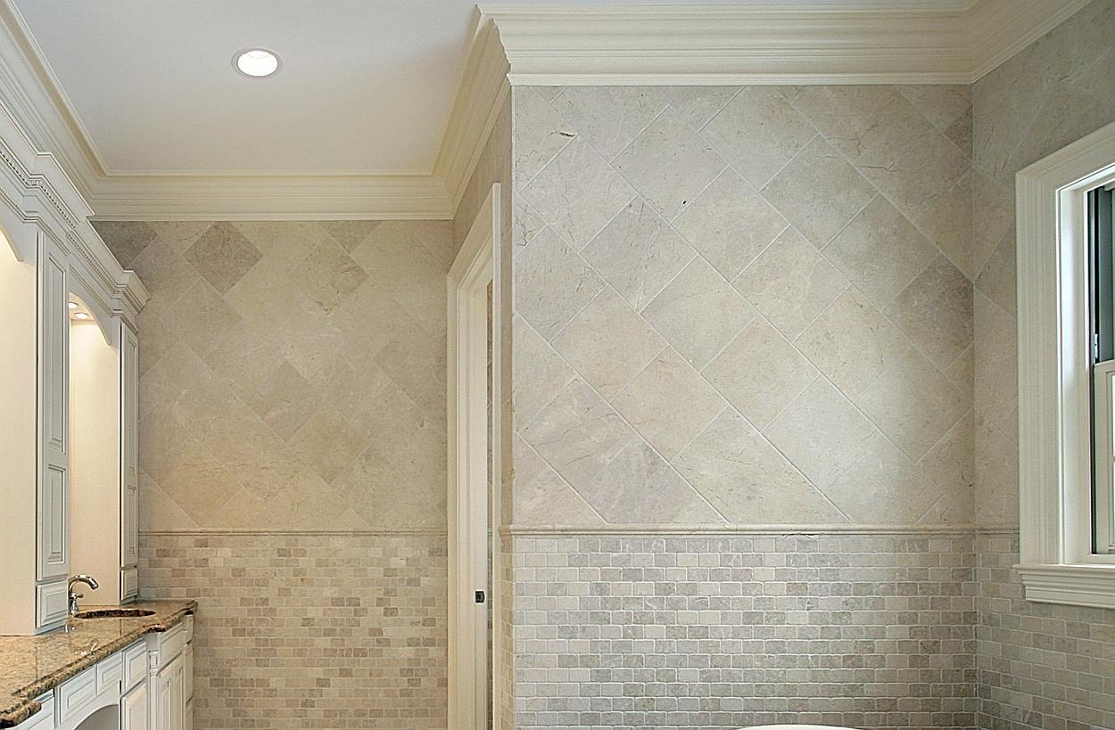 Legpatroon van tegels voorbeelden en inspiratie - Badkamer wandtegels ...