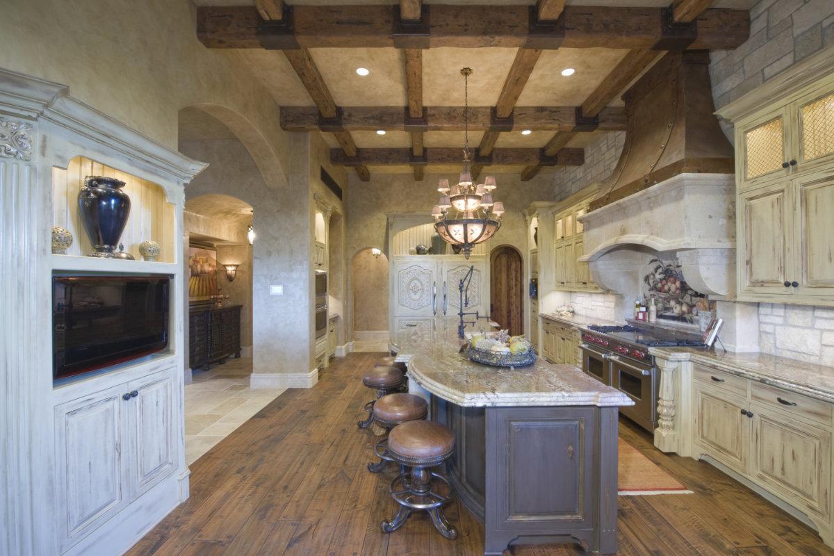 Milieuvriendelijk schilderen met kalkverf tips voorbeelden - Voorbeeld van open keuken ...