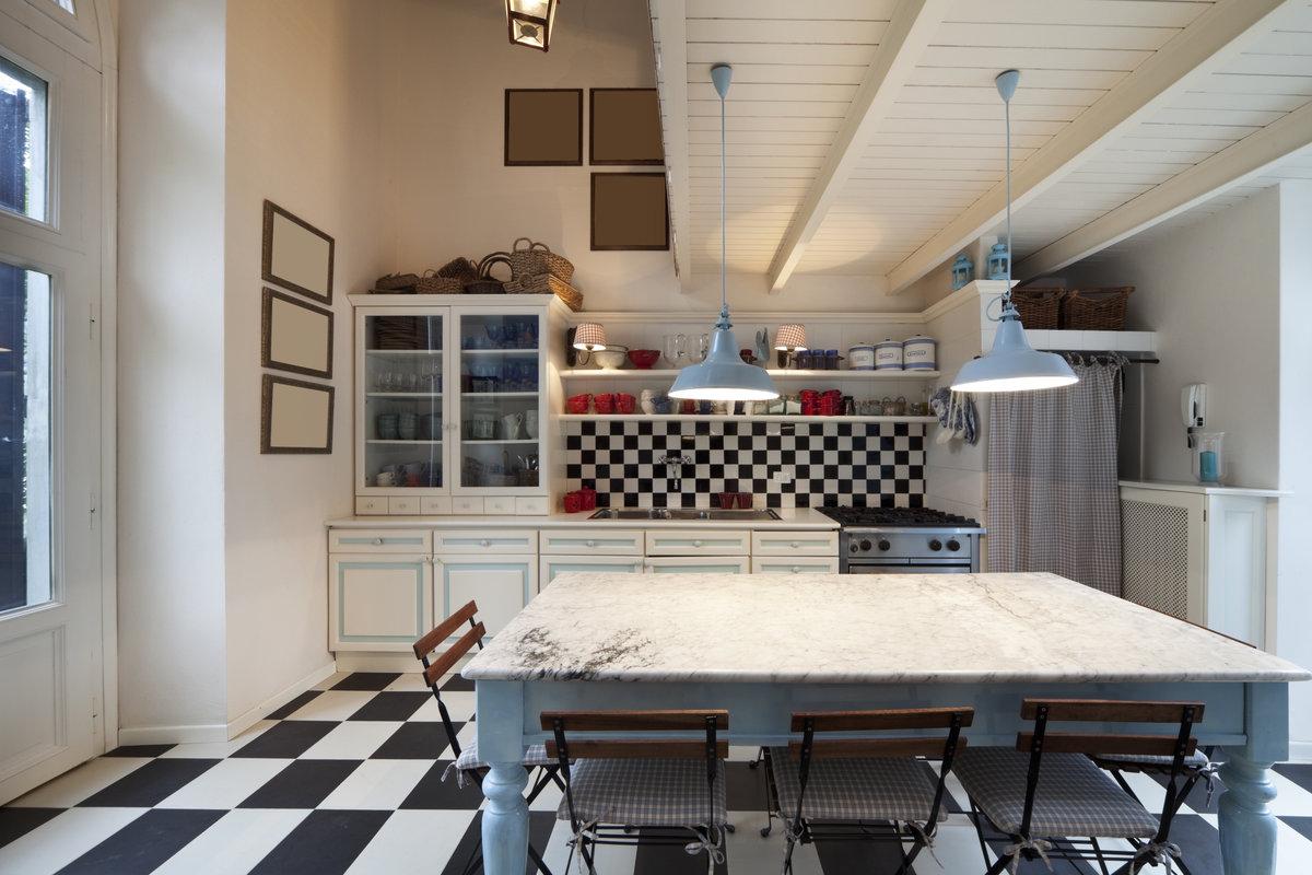 Landelijke keukens fotospecial 20 inspirerende keukens for Interieur ideeen landelijk