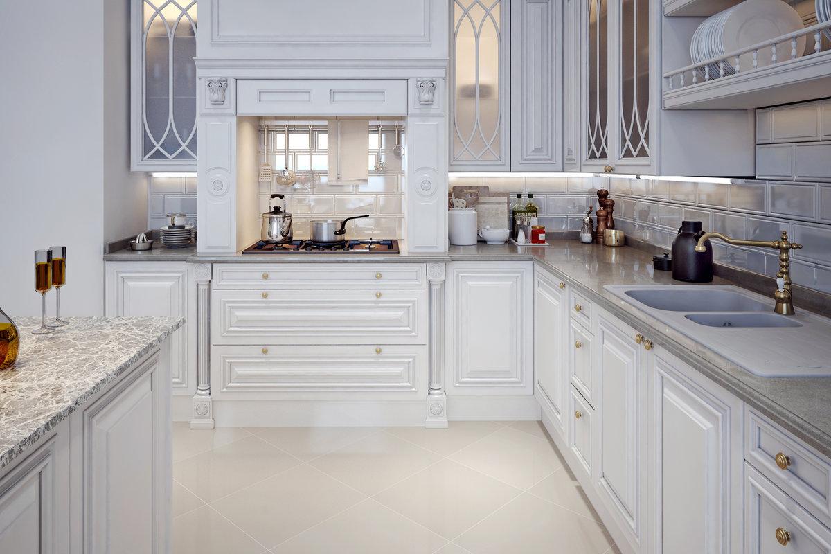 Landelijke keukens fotospecial 20 inspirerende keukens - Keuken wit en blauw ...