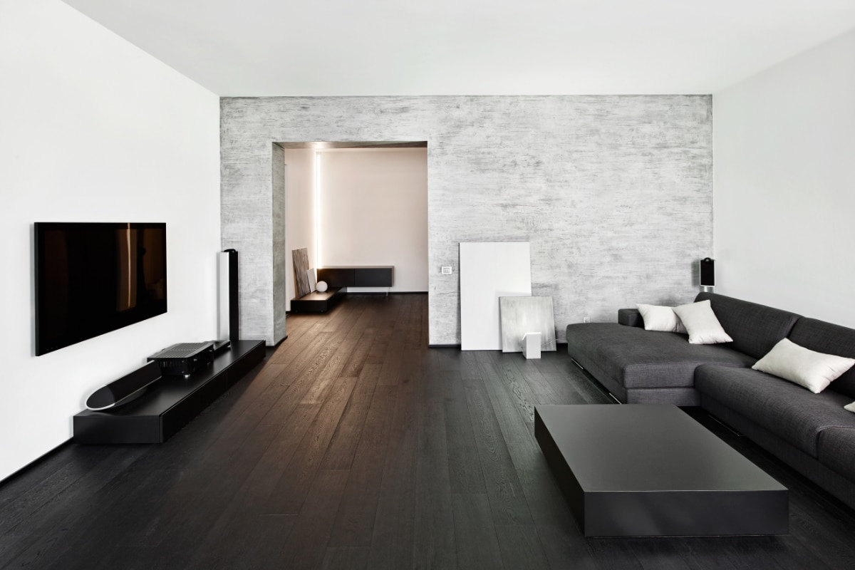 behang modern interieur