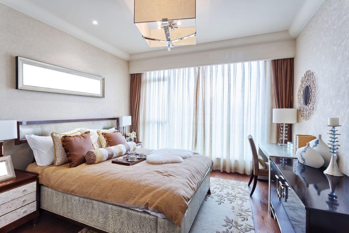 behangpapier slaapkamer klassiek