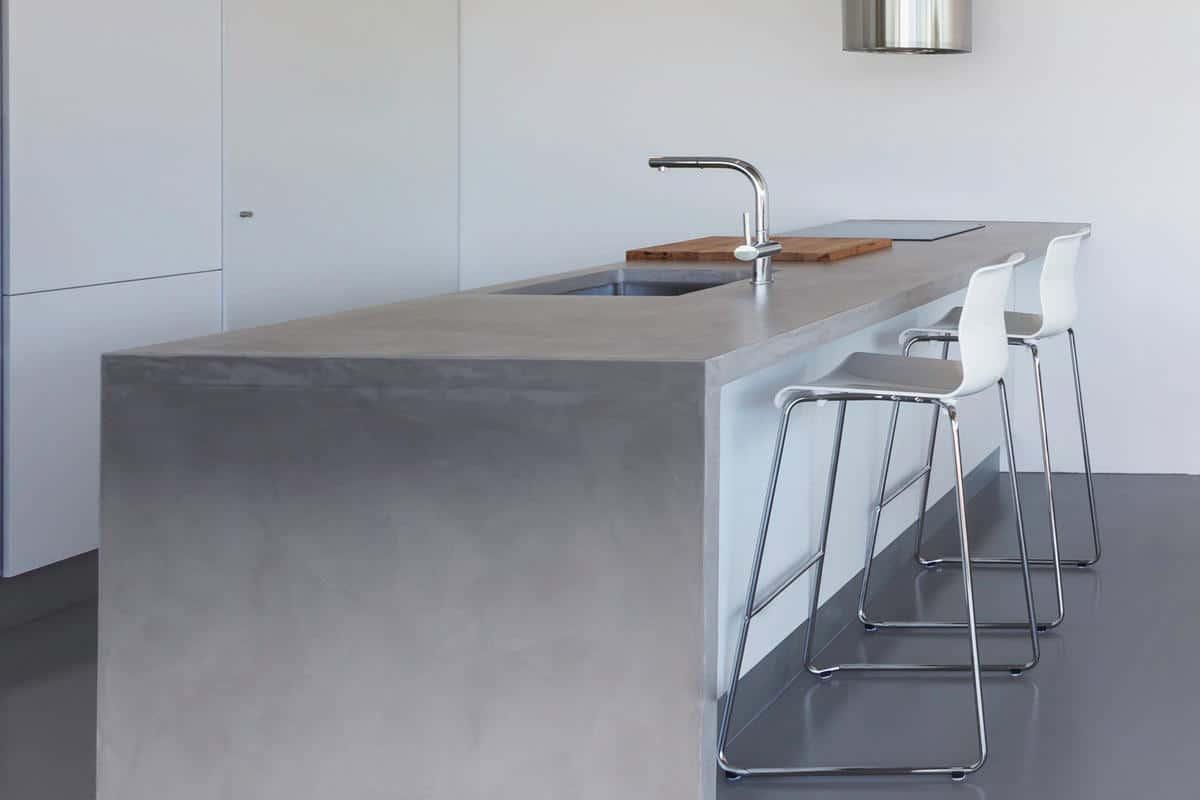beton werkblad keuken