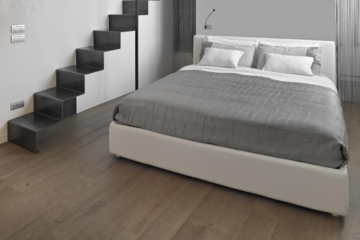 houten vloer slaapkamer