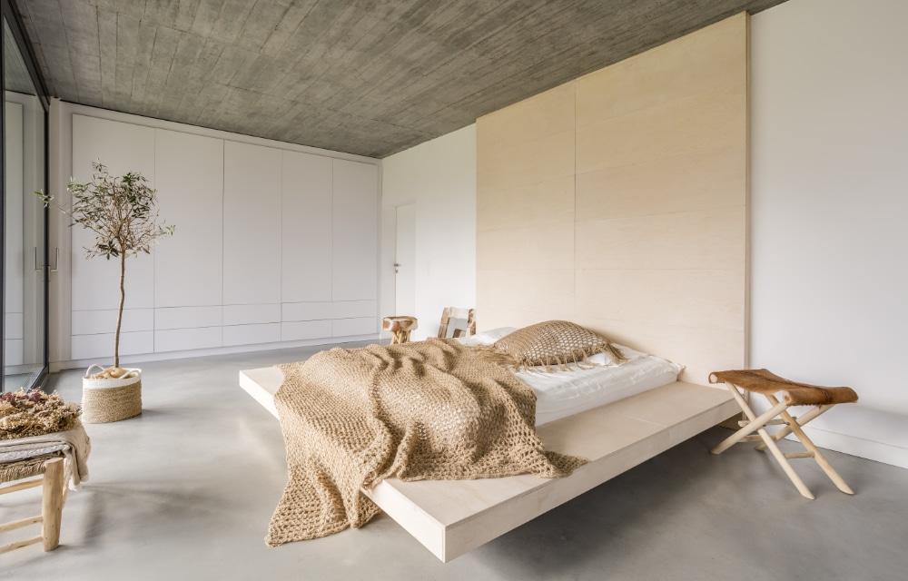 Industriële meubels in de slaapkamer