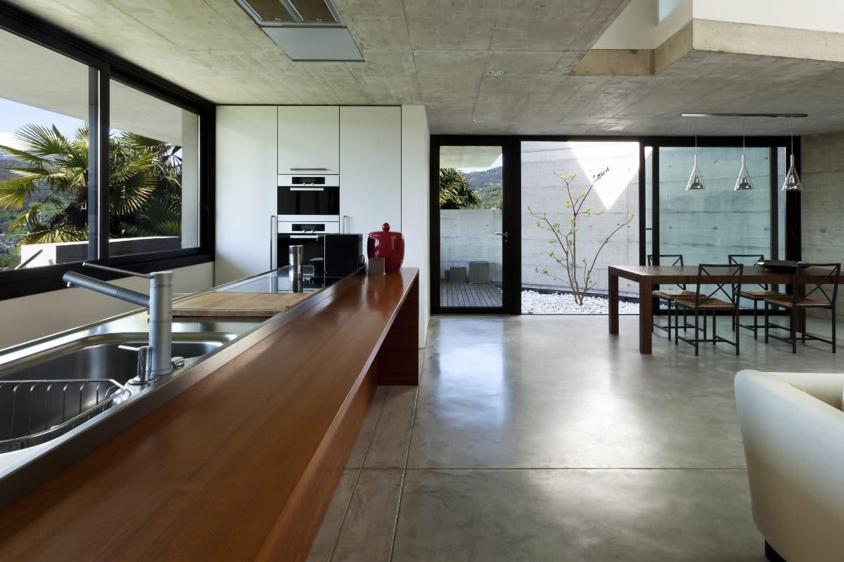 inox werkblad in keuken