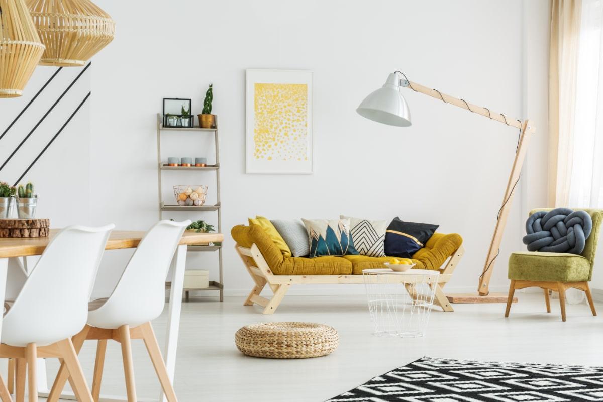 kleuren scandinavisch interieur