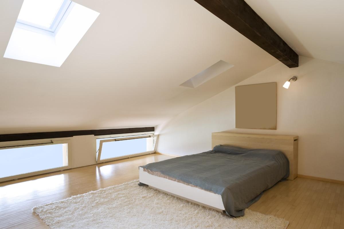 kleuren slaapkamer op zolder