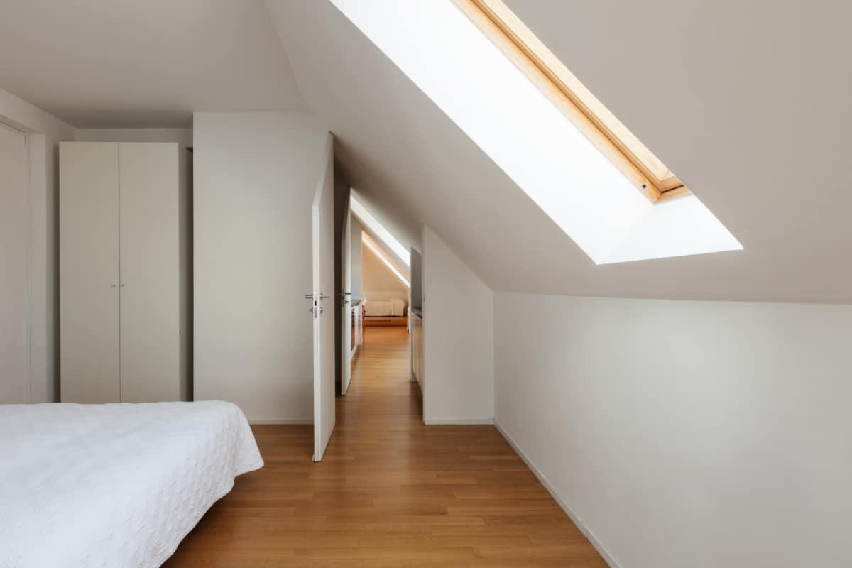 lichtinval slaapkamer zolder
