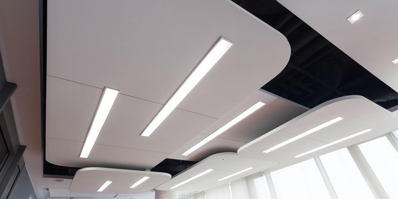 tegelplafond verlichting