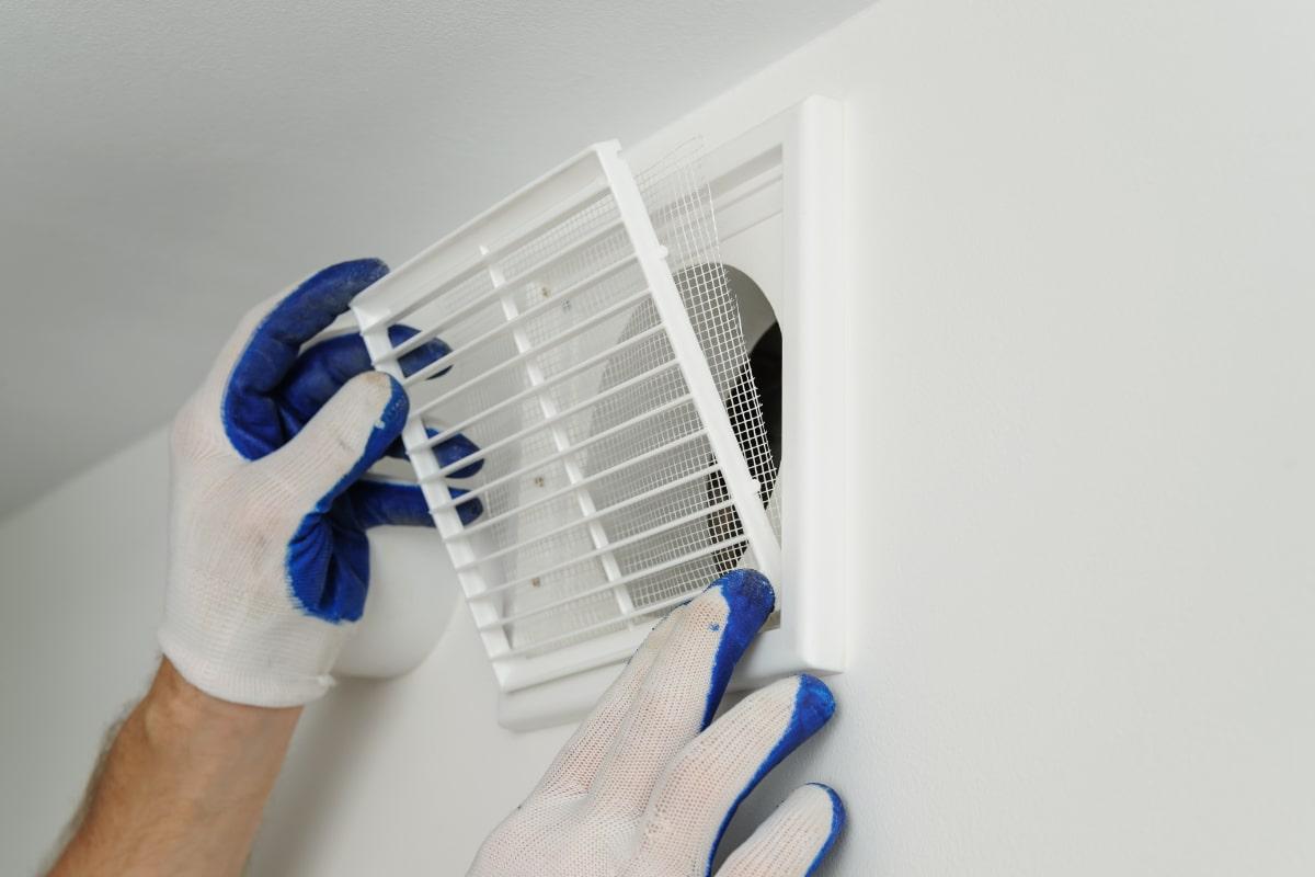 ventilatiesysteem-c installeren