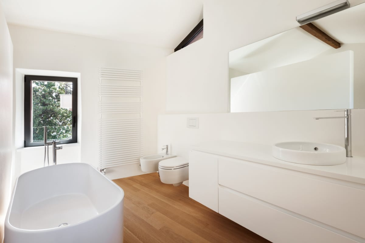 verf badkamer